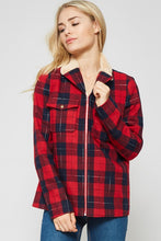 Seasons Plaid Jacket