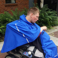 Adaptive Outerwear - Wheelchair Poncho