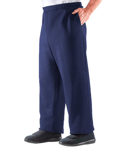 SMA - 3XL Arthritis Mens Fleece Easy Access Pants - Easy Access Clothing