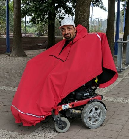 All Weather Adaptive Wheelchair Poncho