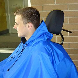 3 in 1 Wheelchair Poncho with seperating layers