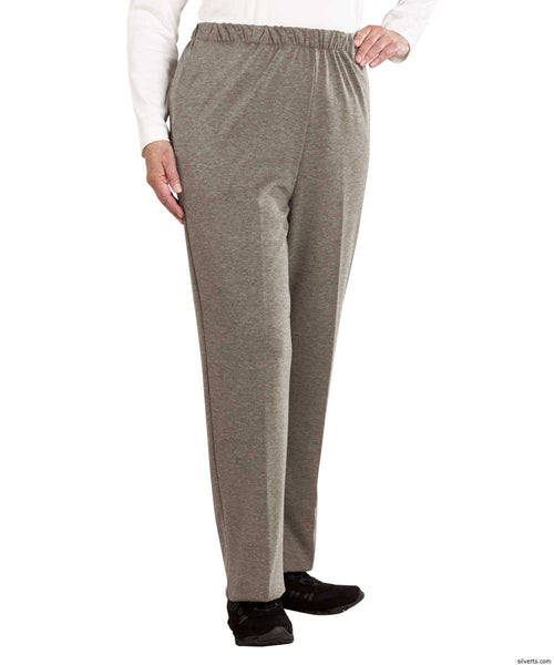 SMA - 3XL Womens Soft Knit Adaptive Wheelchair Users Pant - Disabled Clothes - Wheelchair Pants