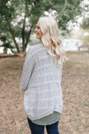 Gray For All Seasons Knit Cardigan BOGO