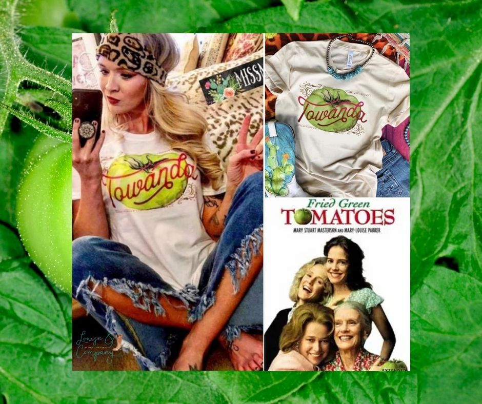 Fried Green Tomatoes Glam Shirt