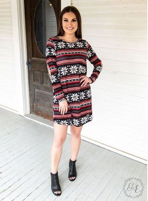 Holiday Sweater Dress