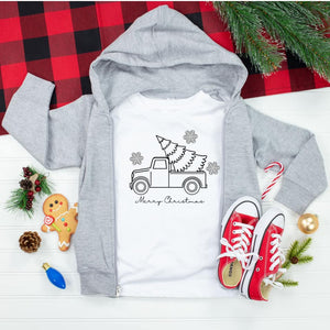 Christmas Coloring Shirts + 6 Pack of Markers