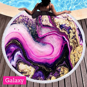 Glam Jumbo Circle Towels