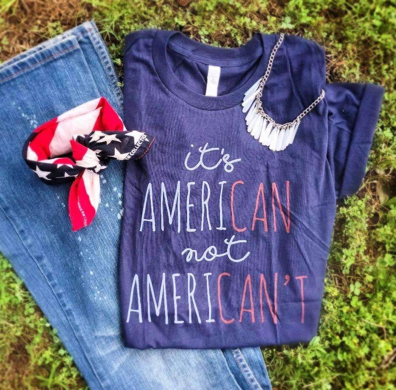 It's Ameri-Can Glam Tee