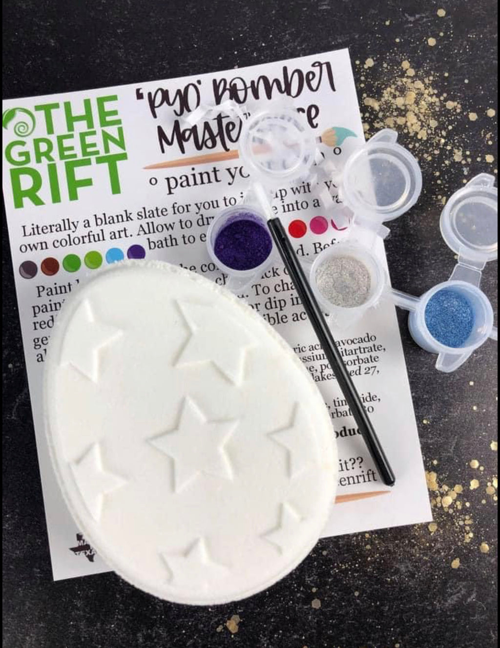 Paint Your Own Bath Bombs - PRE ORDER