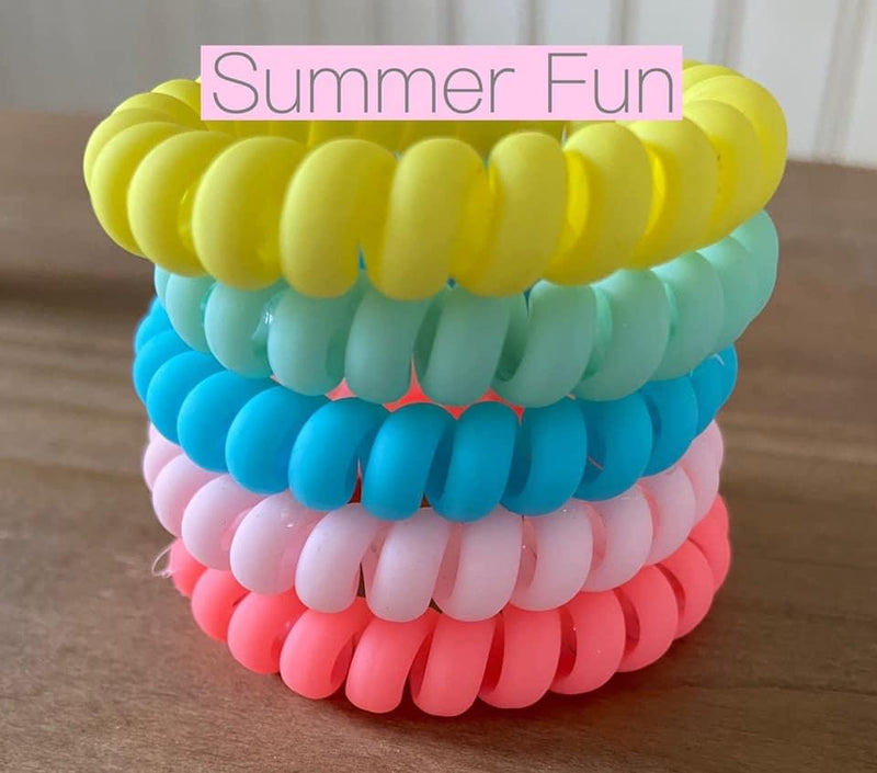 Summer Fun Hair Ties