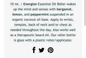 The Muscle Essential Oil Roller