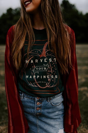 Harvest Your Happiness Glam Tee