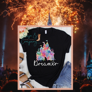 Dreamer Water Color Magic Tee