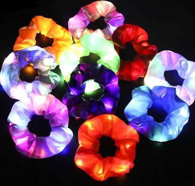 Light Up Scrunchie Set