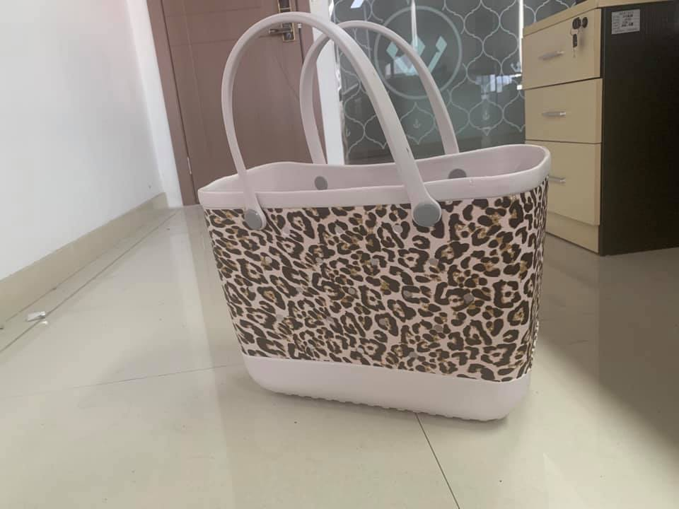 Leopard Makeup Junkie Bag