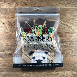 L'Barkery - Sweet Roo and Parsley Chips