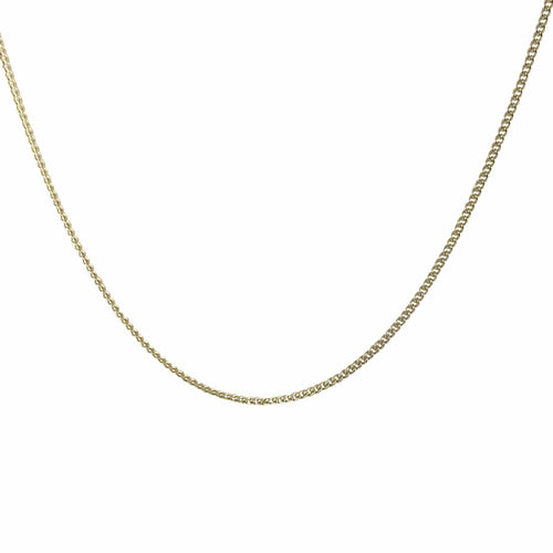 Oro Oro Jewelry - Chains & Charms - Gold Curb Chain