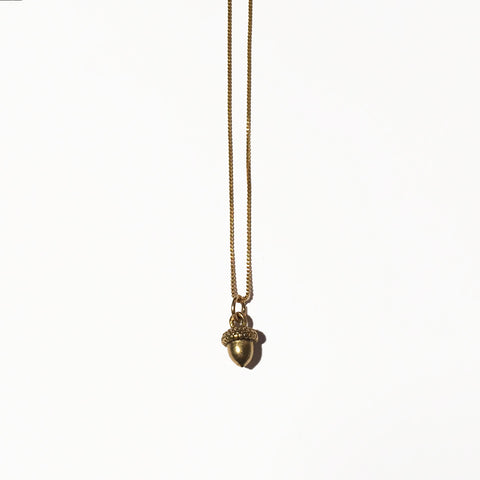 ACORN CHARM - ORO ORO Chains & Charms