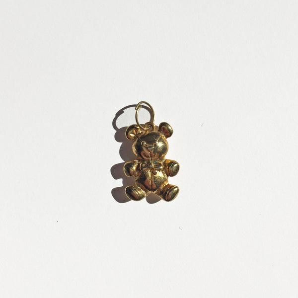 TEDDY BEAR CHARM - ORO ORO Chains & Charms