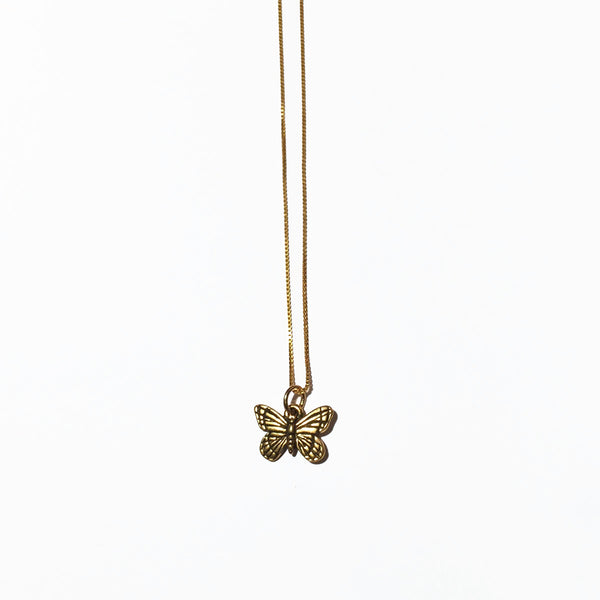 BUTTERFLY CHARM - ORO ORO Chains & Charms