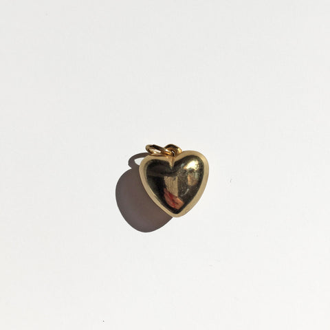 PUFFY HEART CHARM - ORO ORO Chains & Charms