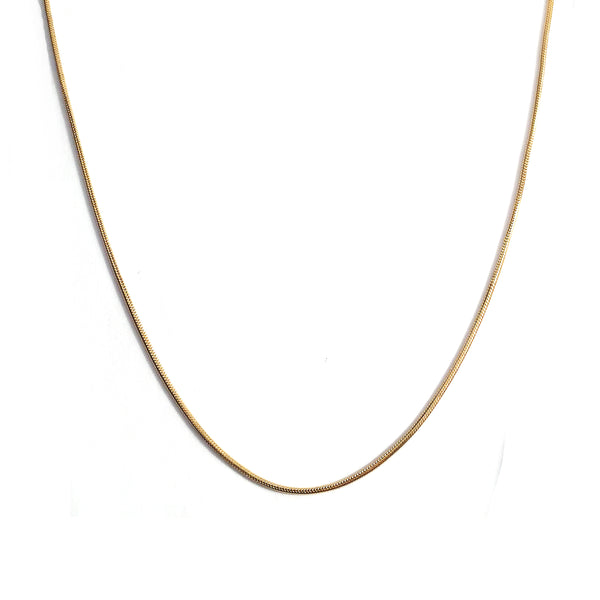 SNAKE CHAIN - GOLD - ORO ORO Chains & Charms
