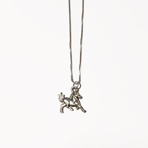 Silver Horse Charm - ORO ORO Chains & Charms