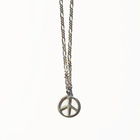 PEACE SIGN CHARM - ORO ORO Chains & Charms