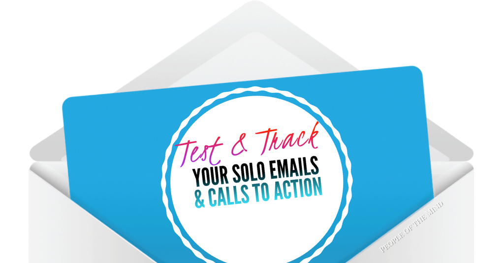 Solo Emails & calls to action www.ShopPeopleoftheMind.com