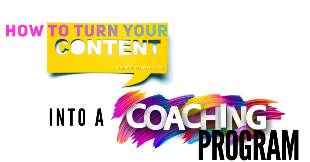 Day 24 - How To Turn Your Content Into A Coaching Program