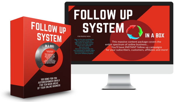 Follow Up System in a box at www.ShopPeopleoftheMind.com