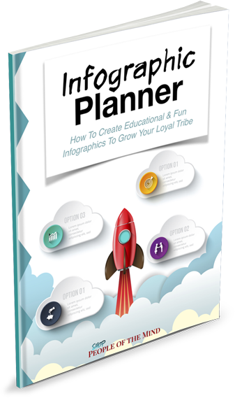 Infographics Planner at ShopPeopleoftheMind.com