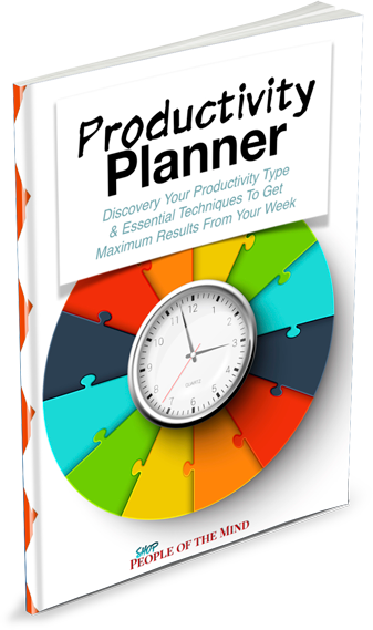 Productivity Planner At ShopPeopleoftheMind.com