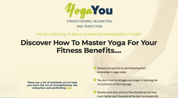 Done for you Yoga Program You Can Brand