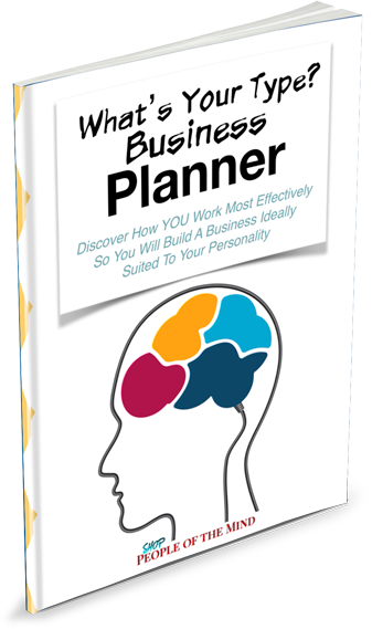 What's Your Personality Type Business Planner ShopPeopleoftheMind.com