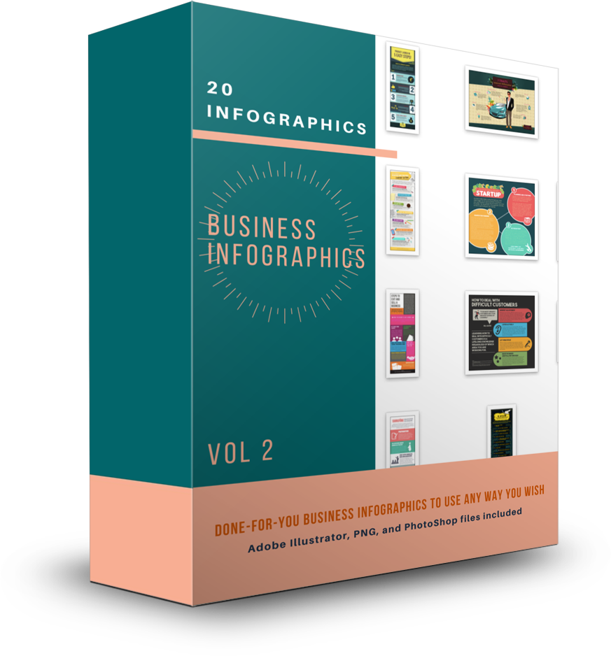 20 Business Infographics Vol 2 - Shop People Of The Mind