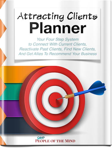 Attracting Clients Planner - Shop People Of The Mind
