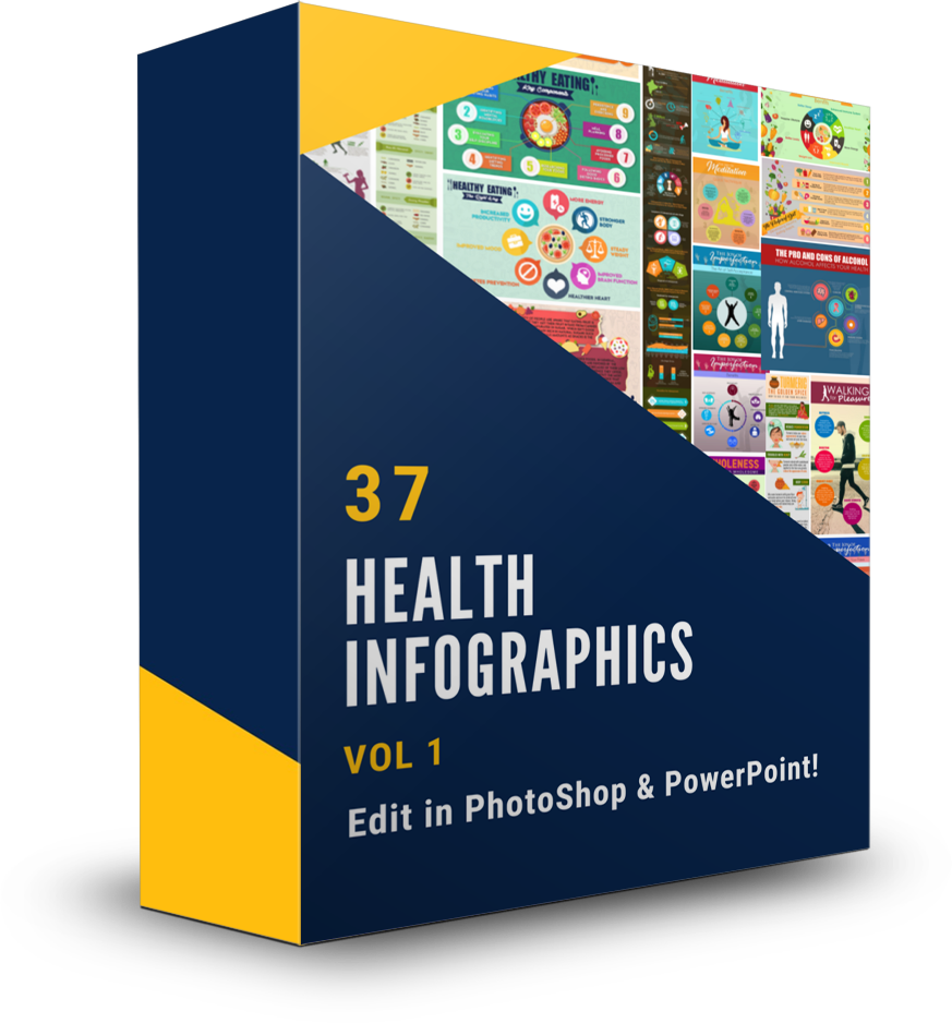 37 Health Infographics Vol 1 - Shop People Of The Mind