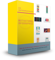 20 Motivational Infographics - Shop People Of The Mind