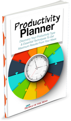 Productivity Planner - Shop People Of The Mind