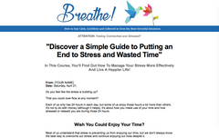 Breathe - Anxiety and Stress Management - Shop People Of The Mind