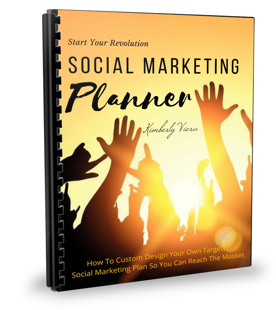 Social Marketing Planner - Shop People Of The Mind