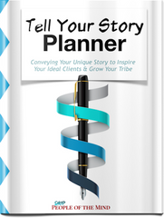 Tell Your Story Planner - Shop People Of The Mind