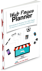 Web Pages Planner - Shop People Of The Mind