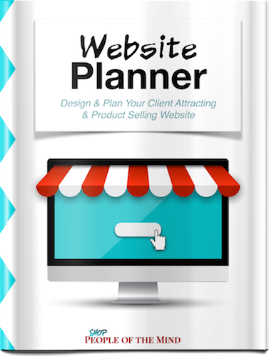 Website Planner - Shop People Of The Mind
