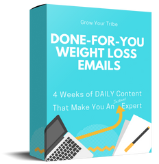 Done-For-You Weight Loss Emails - Shop People Of The Mind