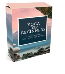 'Yoga For Beginners' Lead Generation Reports - Shop People Of The Mind