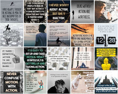 100 Taking Action Social Posters - Shop People Of The Mind