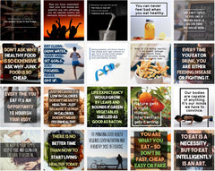 100 Healthy Eating Social Images - Shop People Of The Mind