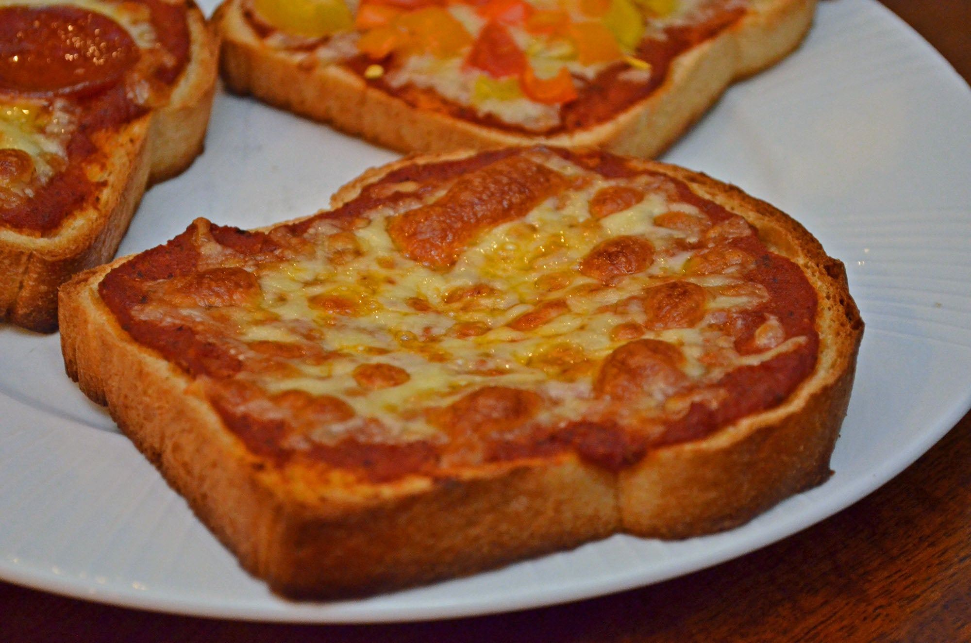 Father Time Pizza Toast